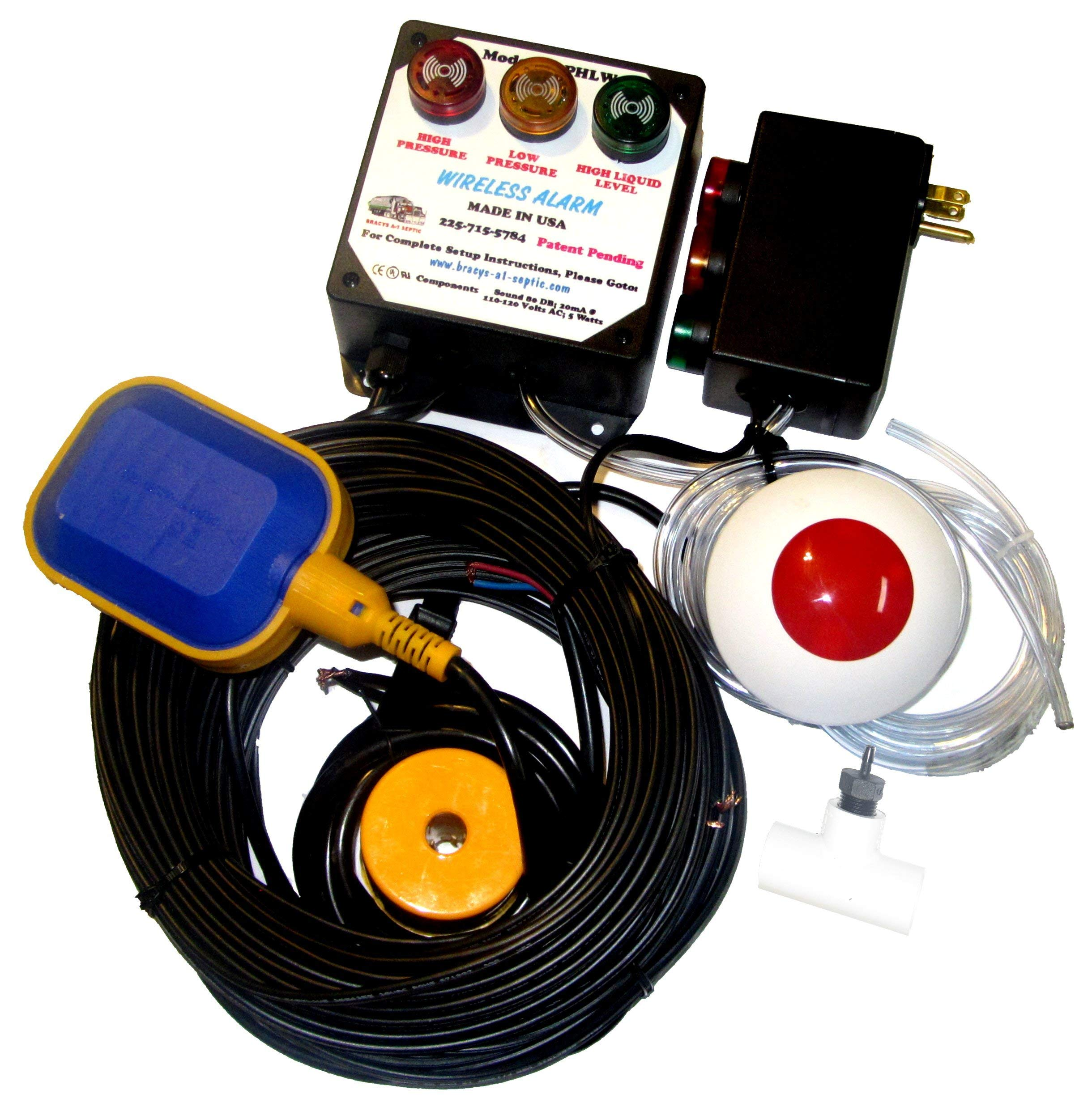 Three Parameter Septic System Alarm (Standard) by Bracys A-1 Septic (Image #2)