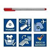 Staedtler Triplus Fineliner Pens, Metal Tin