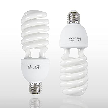 Amazoncom Emart Full Spectrum Light Bulb 2 X 45w 5500k Cfl