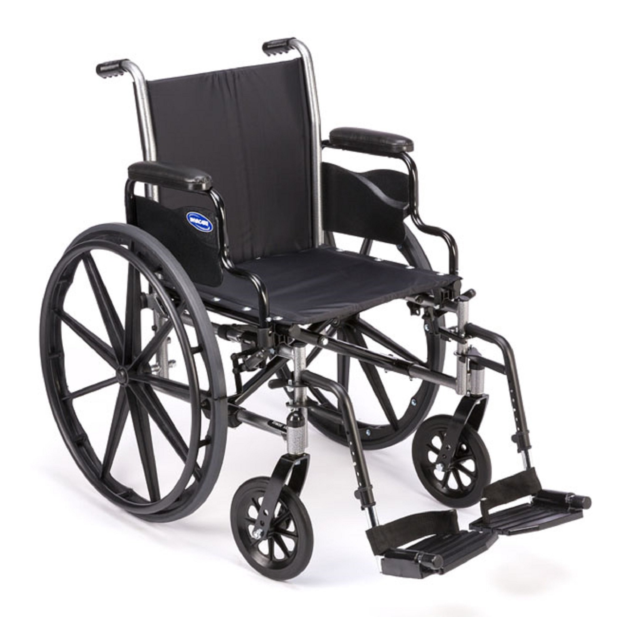 Invacare - Tracer SX5 - Manual Wheelchair - Flip-Back Desk-Length Armrest with Swing Away Footrest - 18'' x 16'' Seat