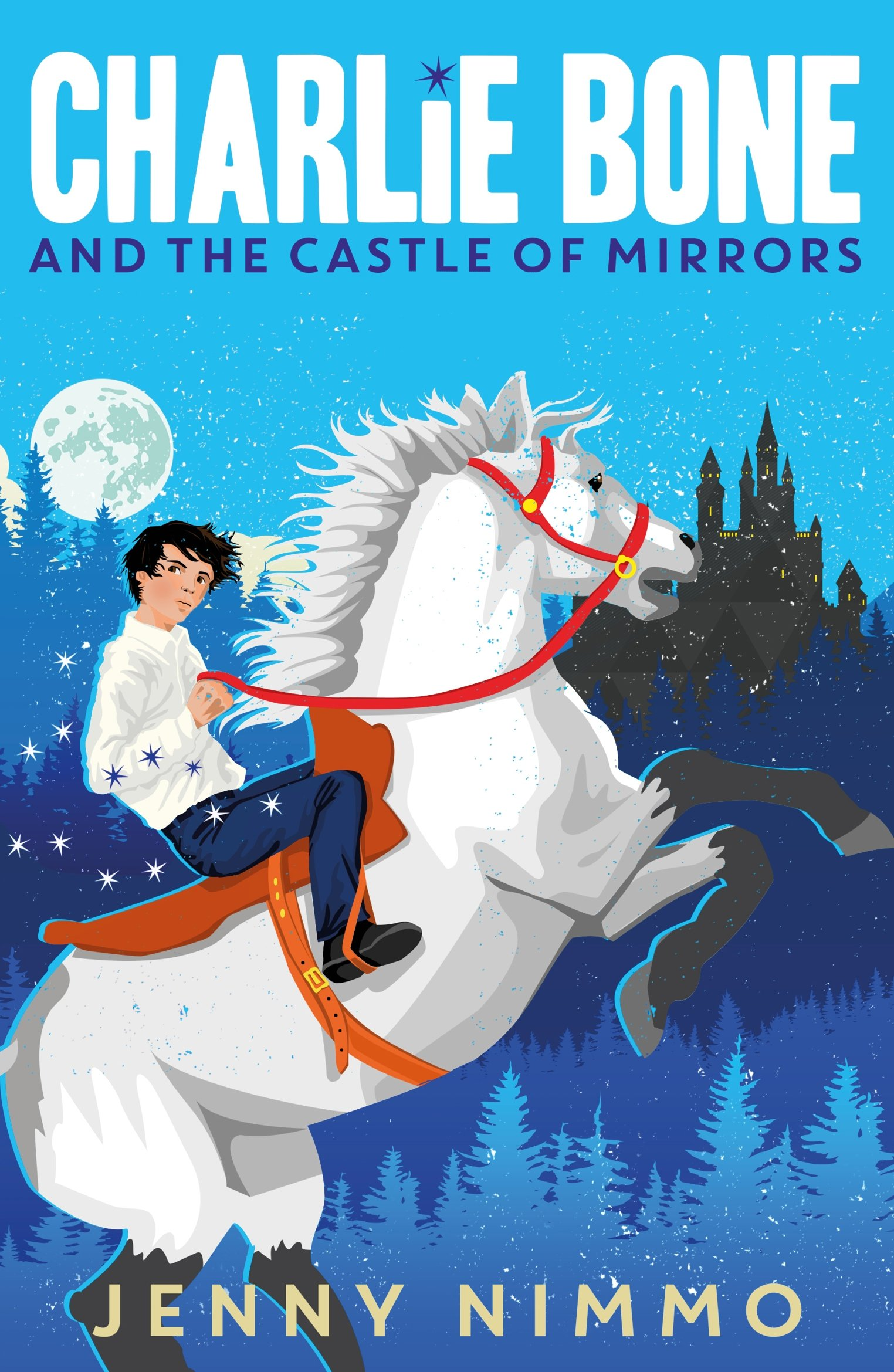 Charlie Bone And The Castle Of Mirrors: Jenny Nimmo: 9781405280952:  Amazon: Books