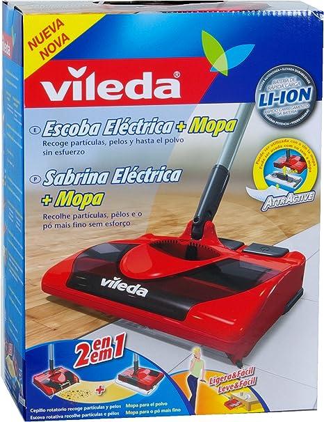 Vileda Cepillo Eléctrico - Escoba y mopa eléctrica inalámbrica ...