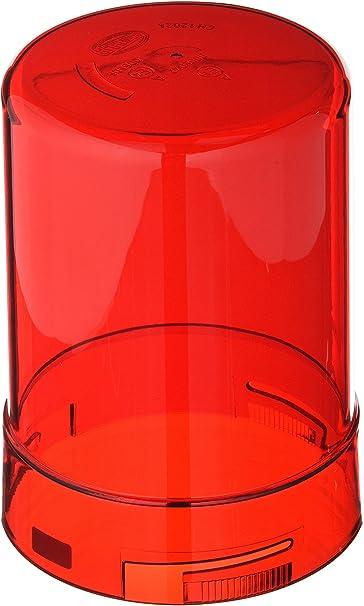 Hella 9el 856 415 037 Lichtscheibe Rundumkennleuchte Lichtscheibenfarbe Rot Auto