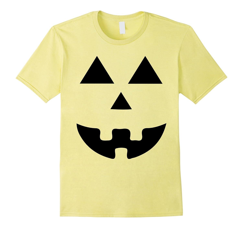 Halloween Pumpkin Face T-Shirt For Men Women Kids Toddlers-T-Shirt