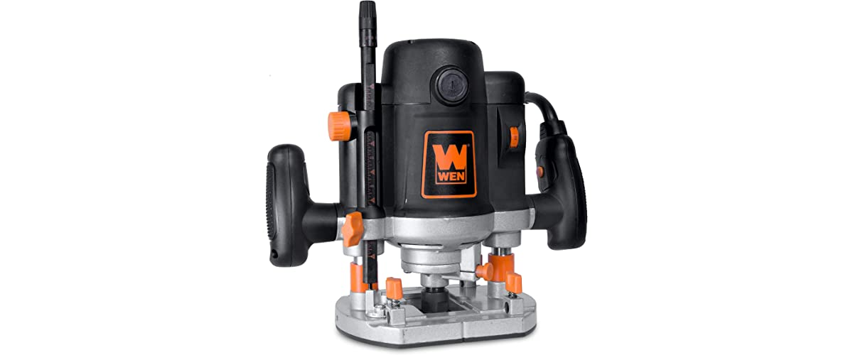 WEN RT6033 15-Amp Variable Speed Plunge Router