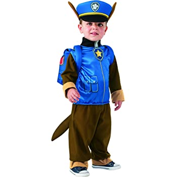 Rubies Costume Toddler PAW Patrol Chase Child Costume, One Color, Small