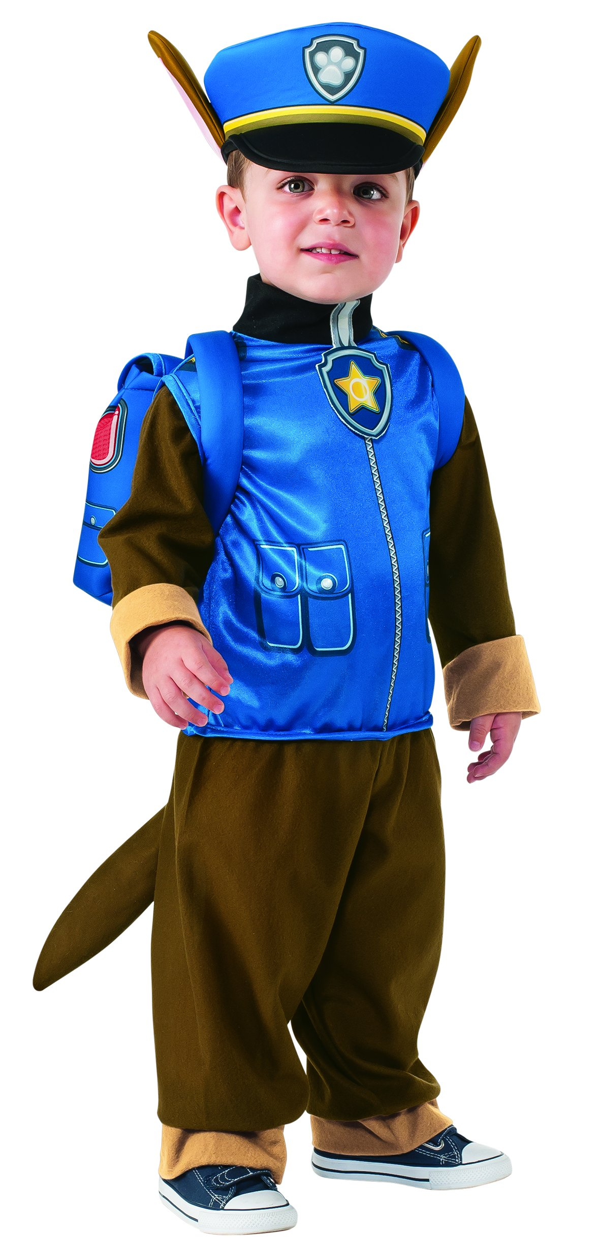 Rubie's Costume Toddler PAW Patrol Chase Costume, X-Small Child Size