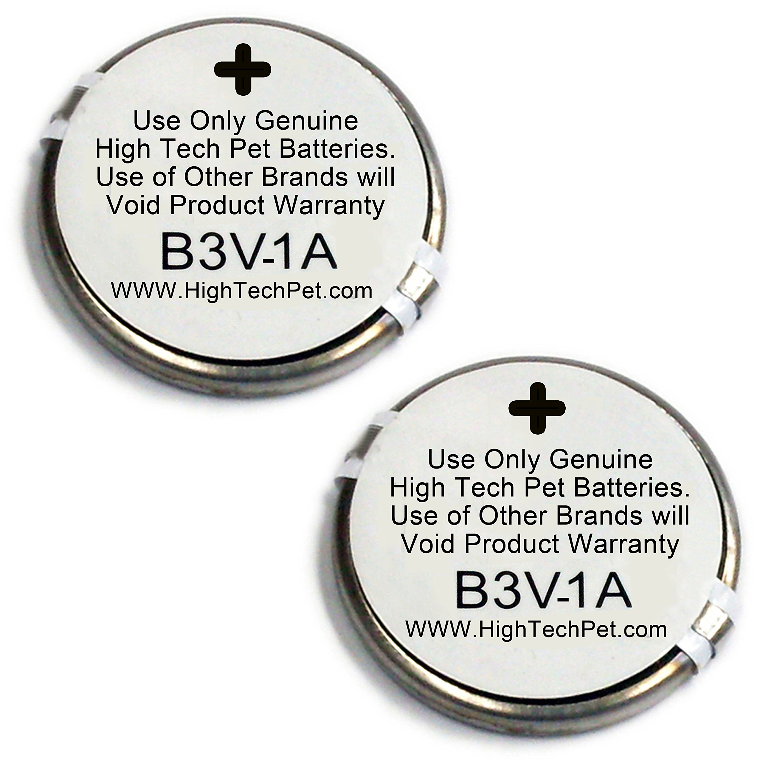 High Tech Pet Single Electronic Collar Battery for Model MS-4 and MS-5, 2-Count