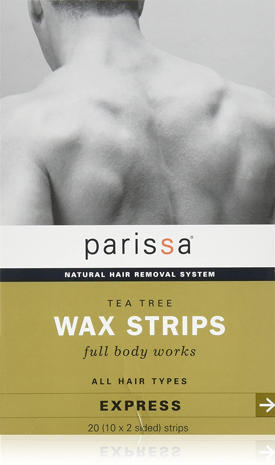 Parissa Men's Tea Tree Wax Strips 20 Strips by Parissa S0522094N