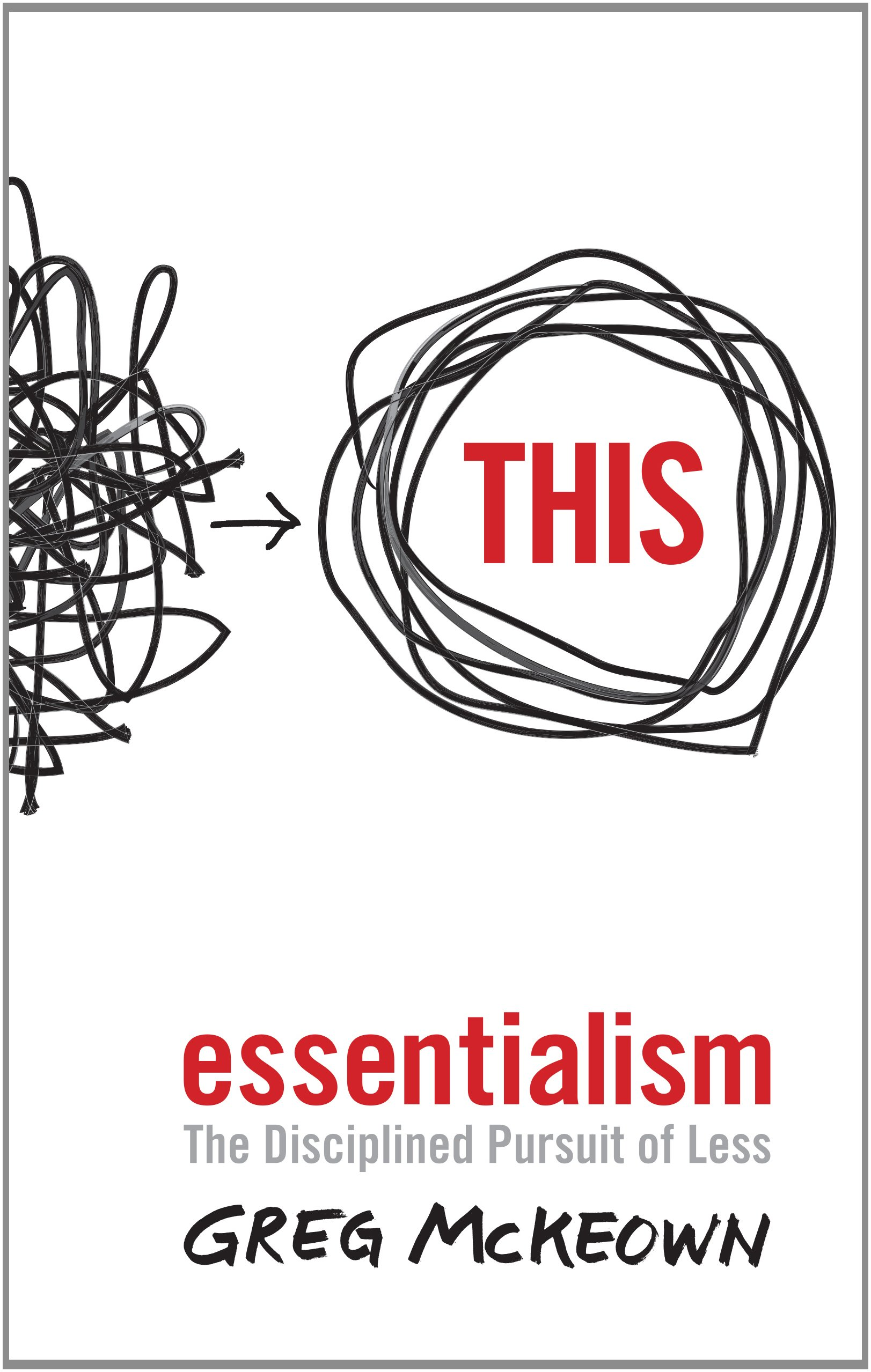 Image result for Essentialism by Greg McKeown.