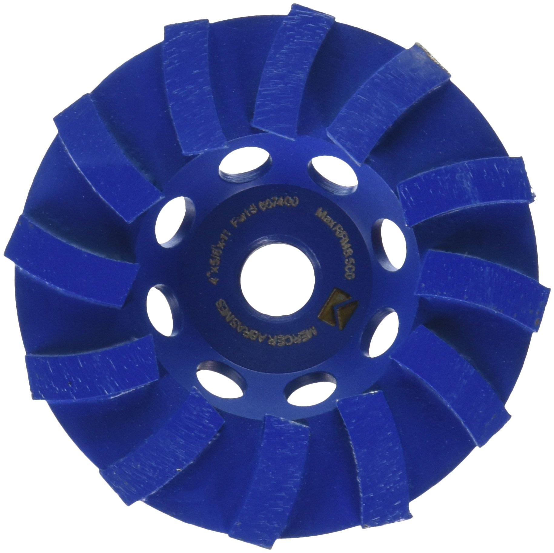 Disco de Diamante MERCER 667400 segmentada en espiral 4 pulg.
