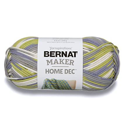 Amazon com: Bernat Maker Home Dec Yarn, 8 8oz, Guage 5 Bulky