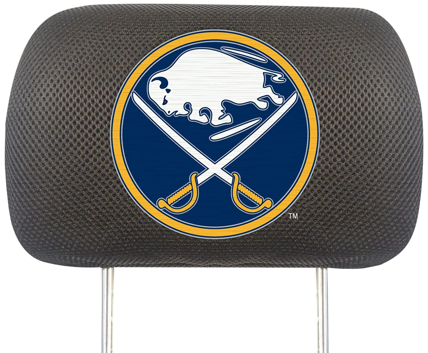 FANMATS NHL Buffalo Sabres Polyester Head Rest Cover 14779