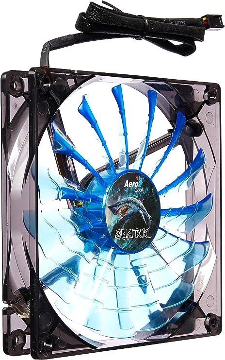 AeroCool Shark 120mm Blue LED Case Fan