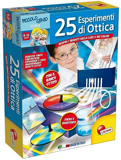52 opinioni per Lisciani Giochi 48984 Piccolo Genio 25 Esperimenti di Ottica