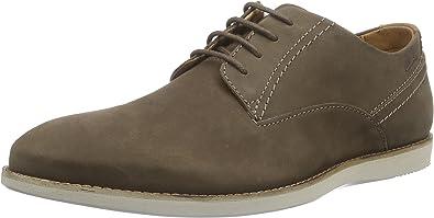 TALLA 44.5 EU. Clarks Franson Plain, Zapatos de Cordones Derby para Hombre