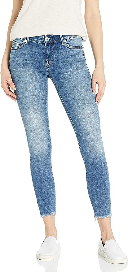 True Religion 真实信仰 halle crystal 水钻装饰 女式紧身牛仔裤 27码2.6折$36.31 海淘转运到手约¥300