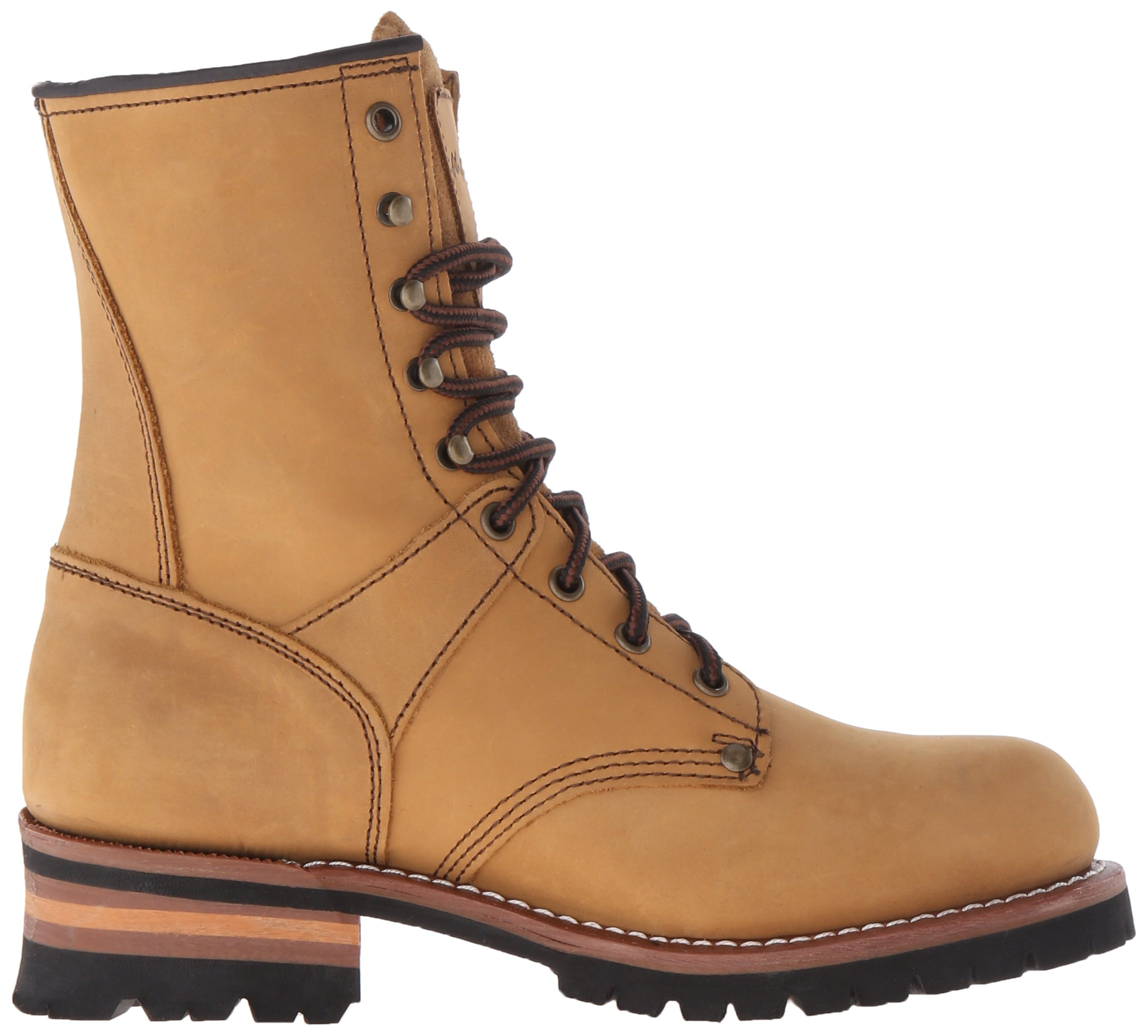 Adtec Men's 9 inch Logger Boot, Brown, 9 W US by Adtec (Image #7)