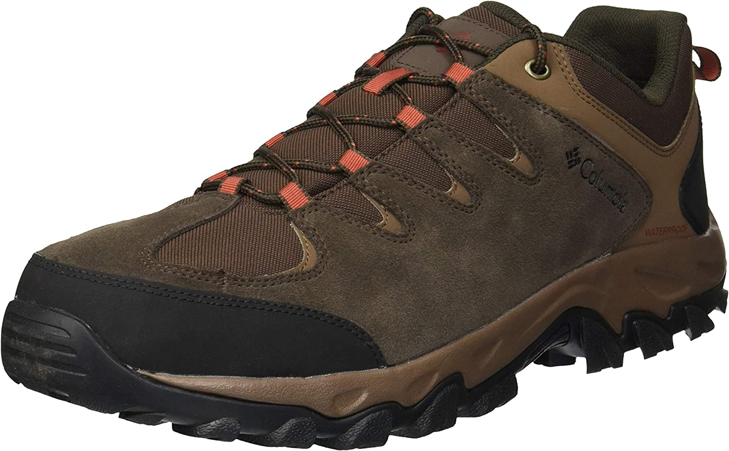 Columbia Men s Buxton Peak Waterproof Hiking Shoe, Breathable, High-Traction Grip