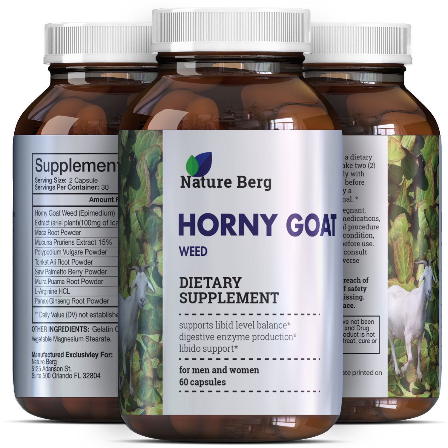 Buy herbal supplements 1000 count capsules - Amazon Com 1000 Mg All Natural Horny Goat Weed Extract Pills With Maca Root Powder Top Rated Male Female Enhancement Supplement Pure Libido Enhancer