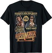 WrestleMania Shawn Michels vs Bret Hart T- Shirts