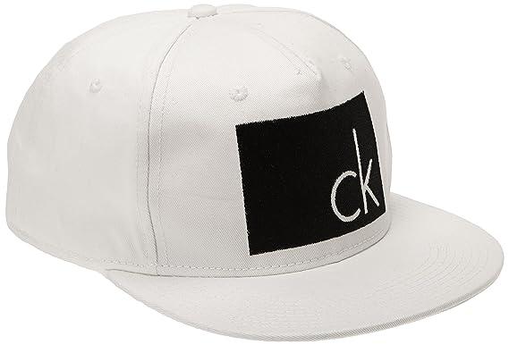 6ac163cf Calvin Klein Jeans Herren Visor ARLO, Weiß (Bright White Pt),  (Herstellergröße