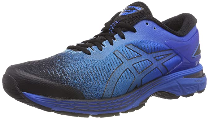 Civilizar Suradam piano  ASICS Men's Gel-Kayano 25 Sp Blue and Black Track Field Shoes-12 UK/India  (48 EU)(13 US) (1011A030.001): Buy Online at Low Prices in India - Amazon.in