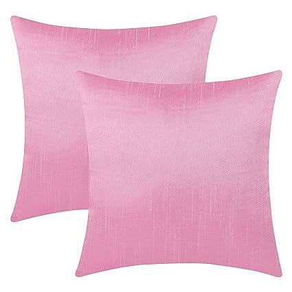 Amazon The White Petals Light Pink Decorative Pillow Covers Stunning Light Pink Decorative Pillows