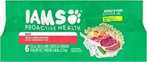 IAMS PROACTIVE HEALTH Pate Wet Dog Food, 6 count cans