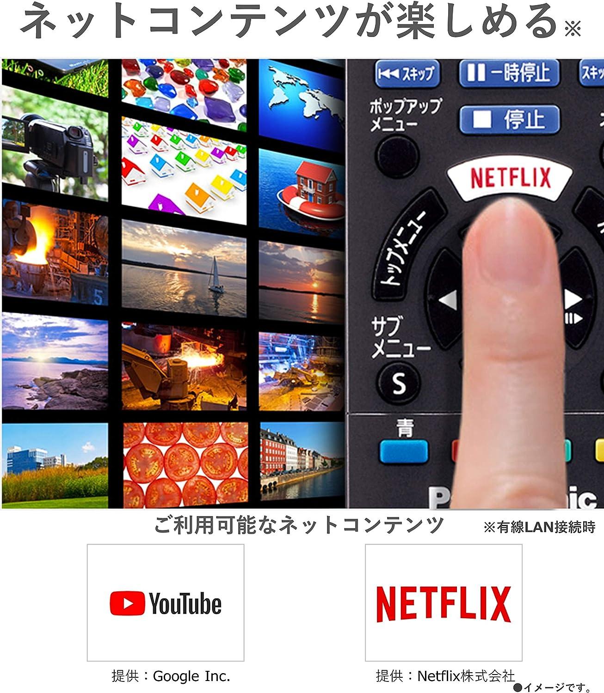 パナソニック ブルーレイプレーヤー 4Kアップコンバート対応 DMP-BDT180-K ネット動画 (YouTube, Netflix)対応