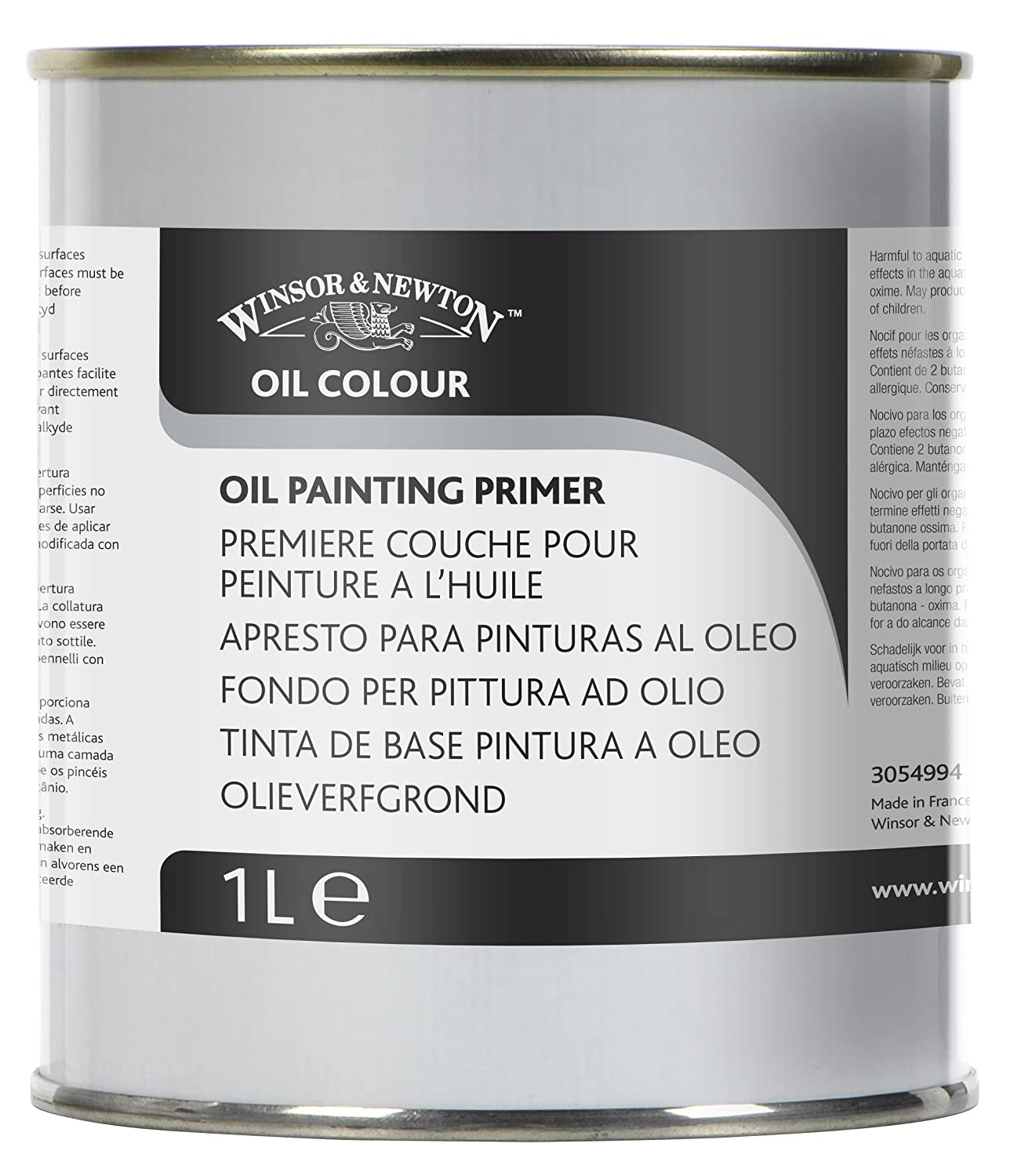 Winsor & Newton 1 Litre Refined Linseed Oil WN3053748
