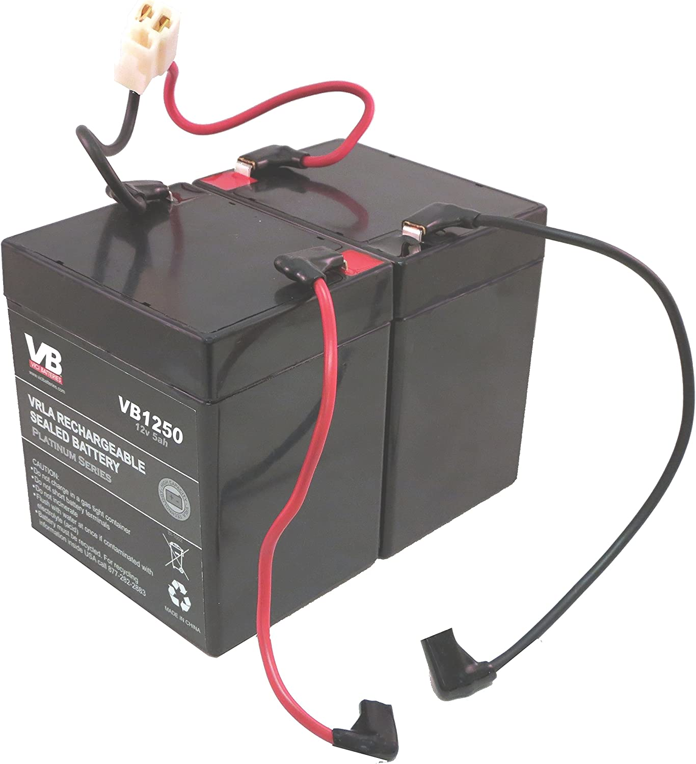 [EQHS_1162]  Amazon.com : Razor E100 Scooter Batteries - 5Ah with Wire Harness by VICI  Battery : Sports & Outdoors | 12 Volt Battery Wiring Harnesses |  | Amazon.com