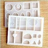Hibery Silicone Jewelry Mold Set of 2