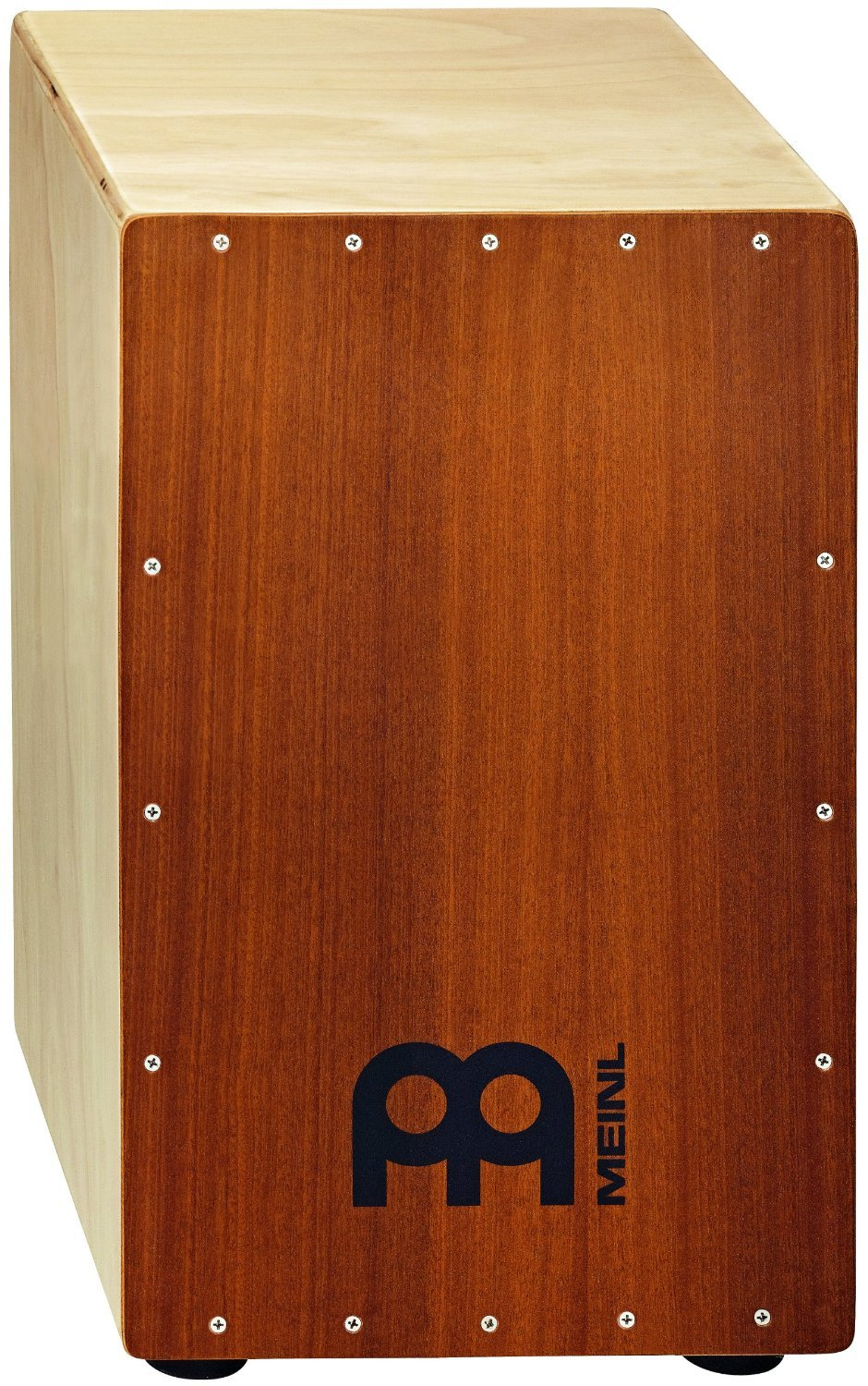 Meinl Percussion HCAJ1MH-M Headliner Series Mahogany Wood String Cajon, Medium Size (VIDEO)