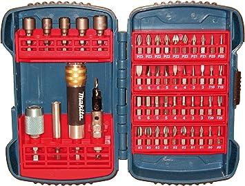 set de brocas juegos broca con maletin para taladros metal madera cemento 49pcs