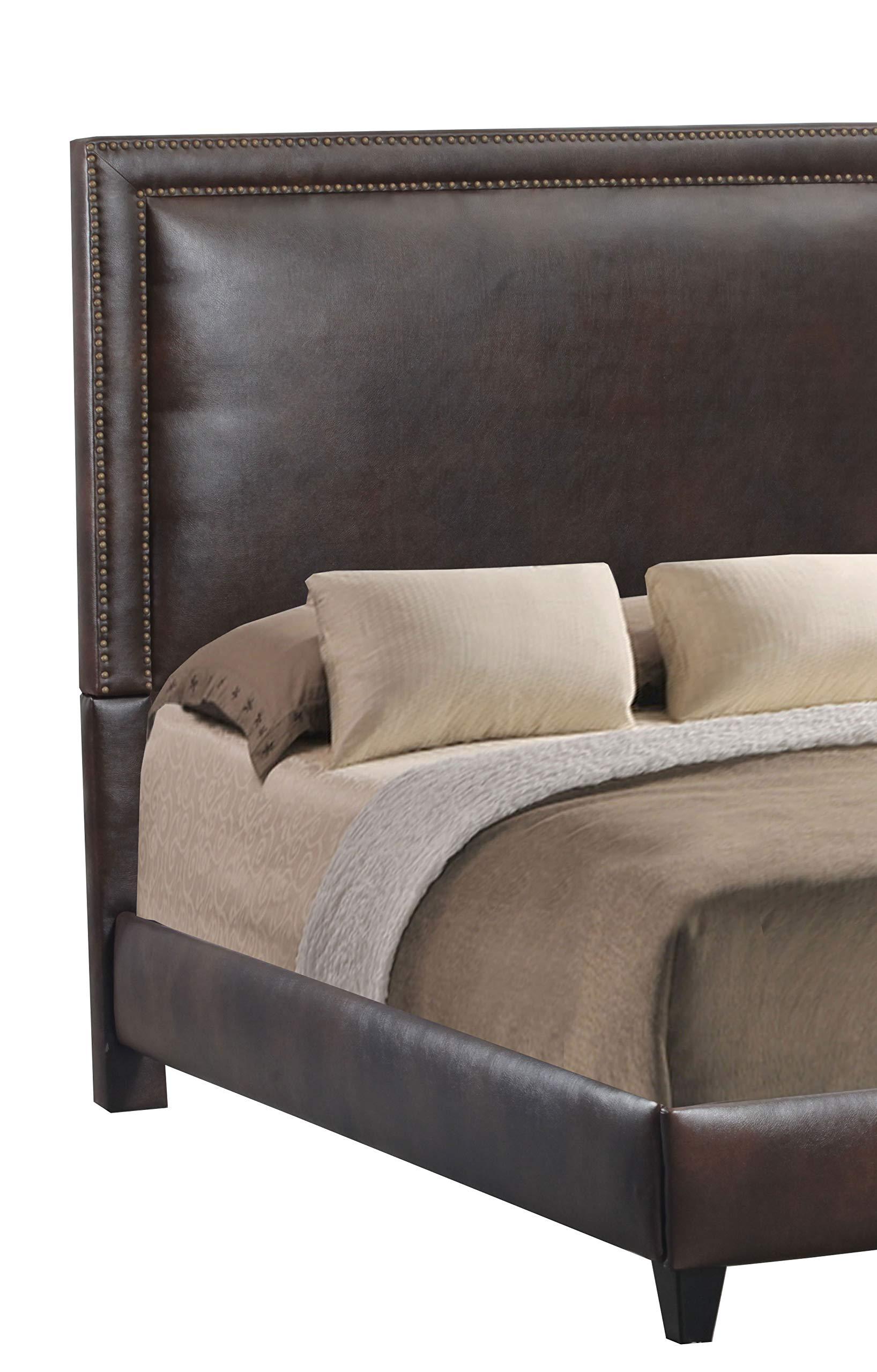 Leffler Home 17000-10-19-01 by-Cast Espresso Brookside Bed Rails and Footboard, King, Dark Brown by Leffler Home