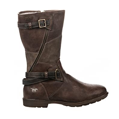 Chaussures Mustang marron fille T85YFqH