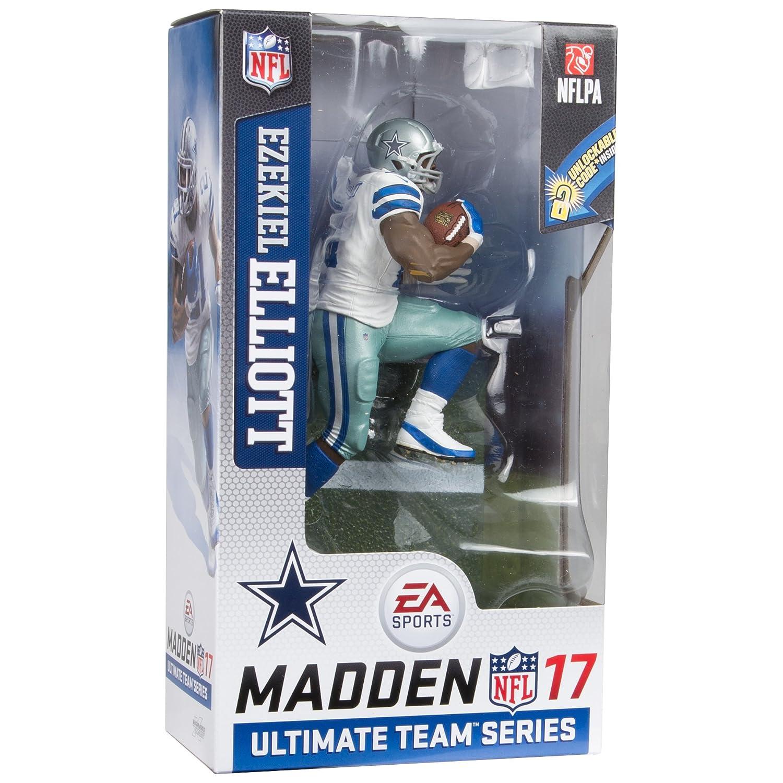 McFarlane Toys EA Sports Madden NFL 17 Ultimate Team Series 2 Ezekiel  Elliott Dallas Cowboys Action Figure 062519b9f
