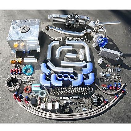 Amazon.com: For Honda Fit High Performance 25pcs GT35 Turbo Upgrade Installation Kit: Automotive