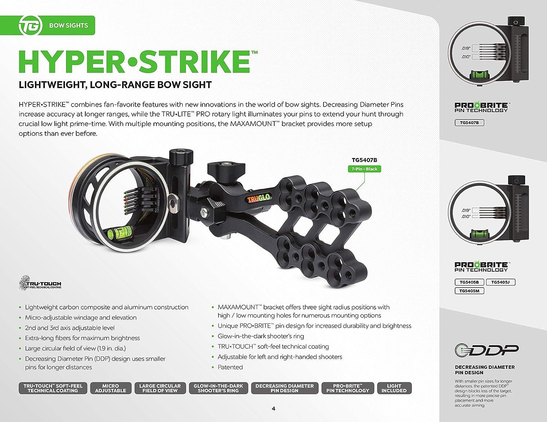 DDP Black Truglo Hyper-Strike 7 Light