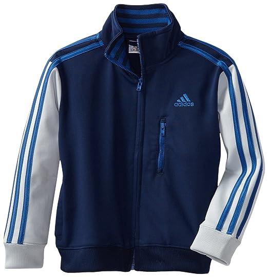 adidas Little Boys Varsity Warm Up Jacket, Navy/Blue, ...