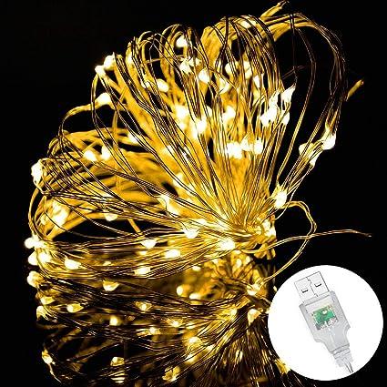 200 LED 16M Waterproof Fairy Lights Outdoor Indoor Christmas Tree Wedding