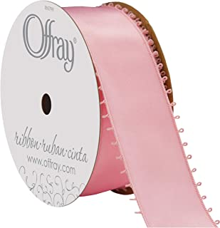 """product image for Offray Berwick 1.5"""" Wide Double Face Satin Ribbon, Light Pink, 10 Yds"""