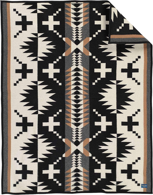 Ships// Sold USA SPIDER ROCK Black Pendleton Luxe Throw Blanket