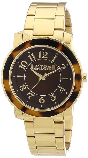 a5009446cc Just Cavalli R7253582501 - Orologio da polso donna, acciaio inox ...