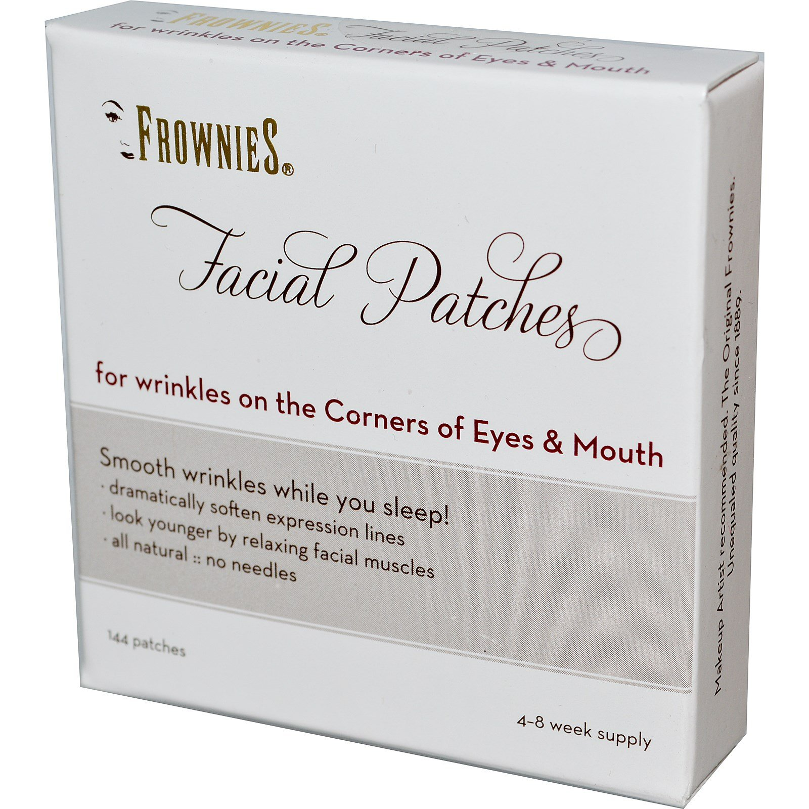 Frownies, Facial Patches, Corners of Eyes & Mouth, 144 Patches - 2pc by Frownies (Image #1)