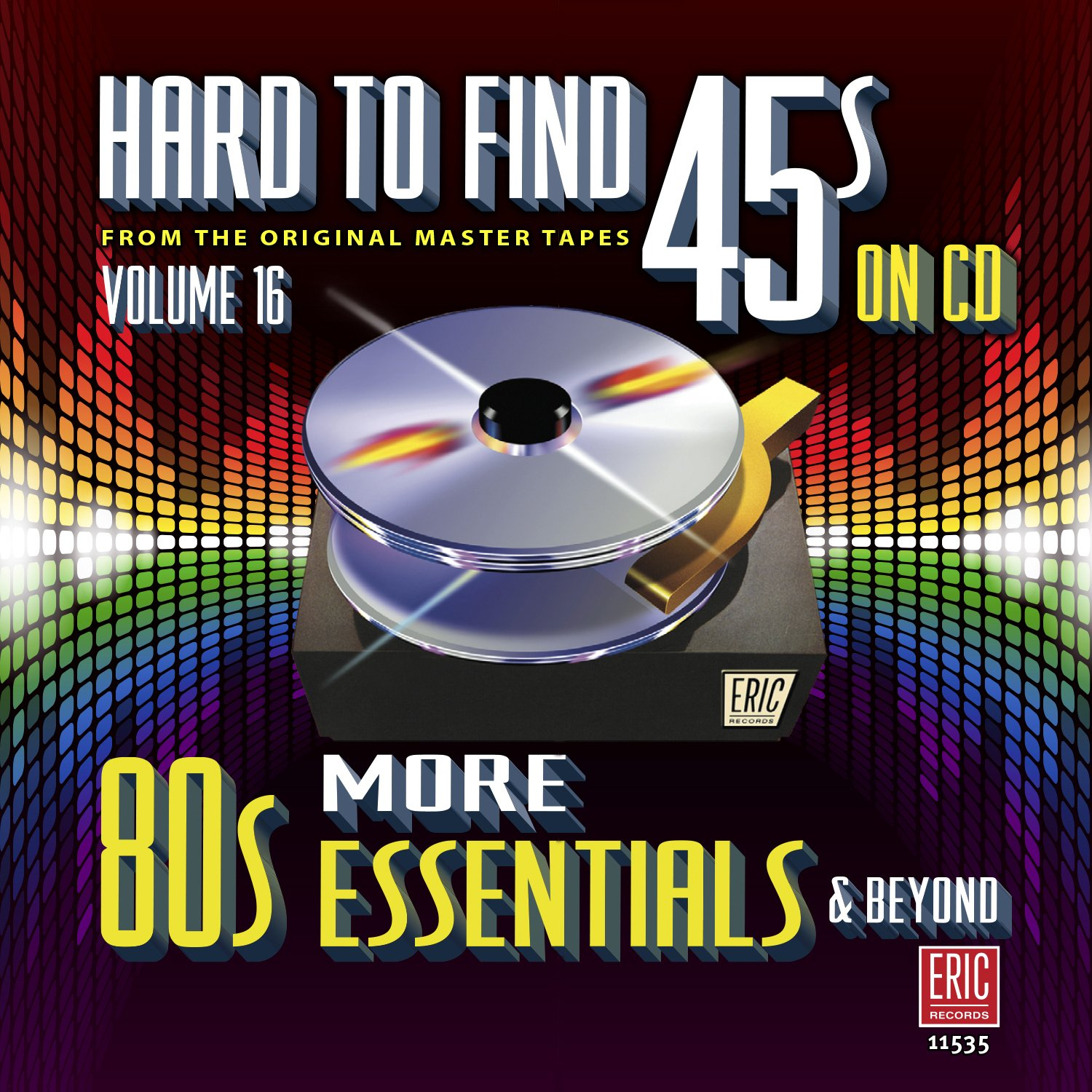 CD : Hard To Find 45s On Cd 16 - More 80s / Various (CD)
