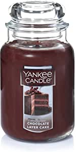 Yankee Candle Chocolate Layer Cake Scented Premium Paraffin Grade Candle Wax with up to 150 Hour Burn Time, Large Jar