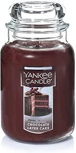 Yankee Candle Large Jar Candle, Chocolate Layer Cake