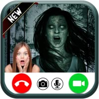 Incoming video live call from scary ghost - free fake phone calls - prank